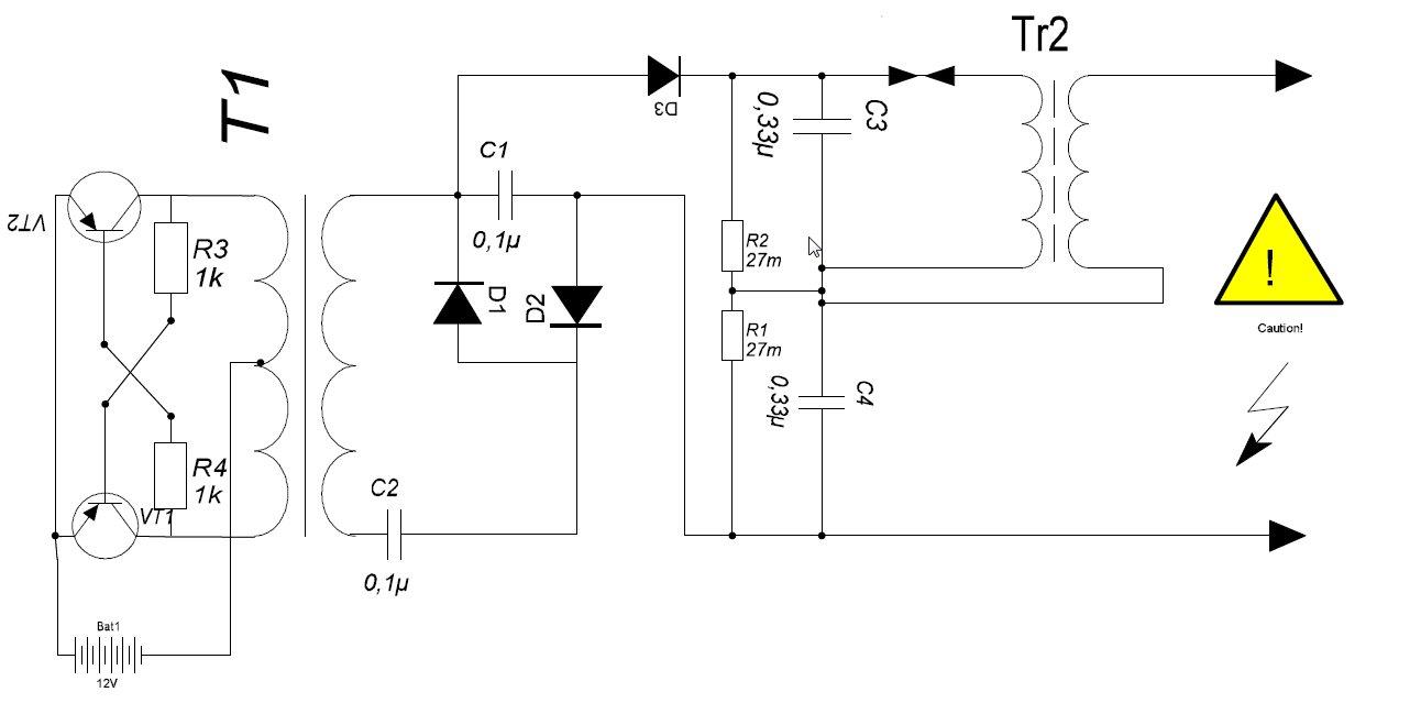 Схема блок питания на irfz44n схема